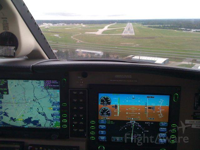 Piper Malibu Mirage (N931TT) - ILS 4R