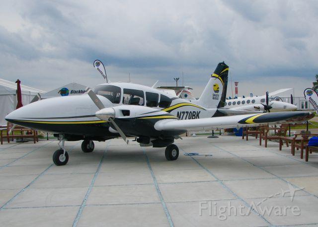 Piper Apache (N770BK) - At AirVenture 2016.