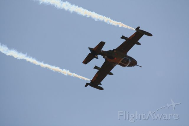 — — - Warbirds Downunder Cessna A37D in action at Temora NSW Australia 2013