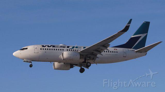 Boeing 737-700 (C-FEWJ) - January 14,2015