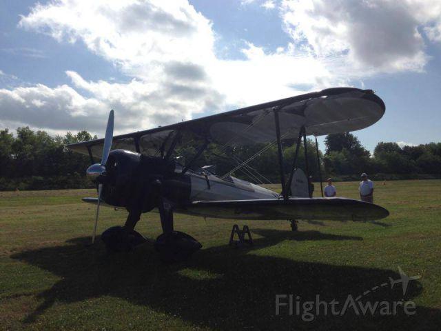 Cessna Skyhawk (N52283) - Boeing stearman at the Hendersonville airport