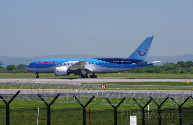 G-TUIB — - Dreamliner training flight from Manchester 6 June 2013