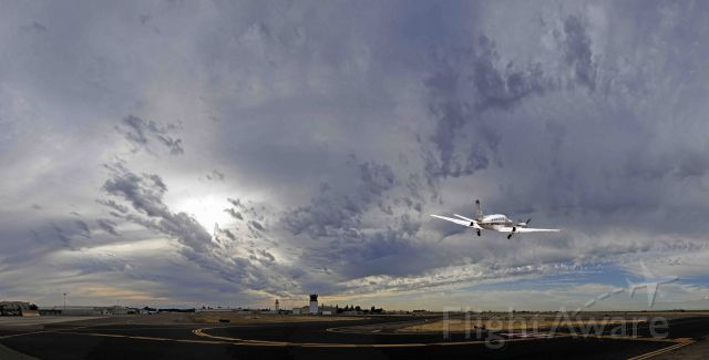 Cessna Conquest 2 (N441SB) - Early morning departure from Merced Regional Airport (KMCE)