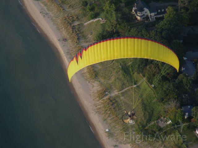 — — - Powered Paraglider