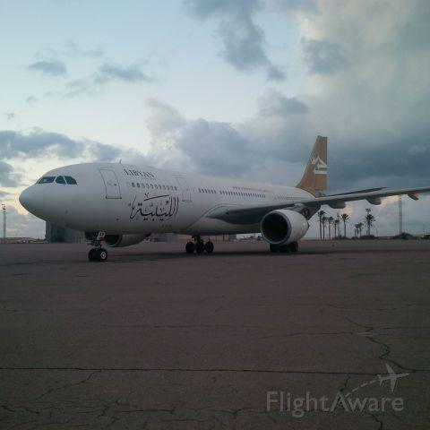 Airbus A330-200 (5A-LAR) - Libyan Airlines<br />CNS/ATM Unit<br />ICT Department