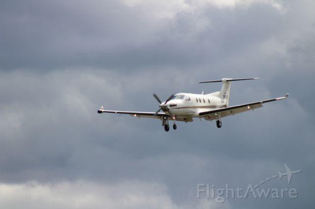 Pilatus PC-12 (N14RD) - Landing Renton, WA