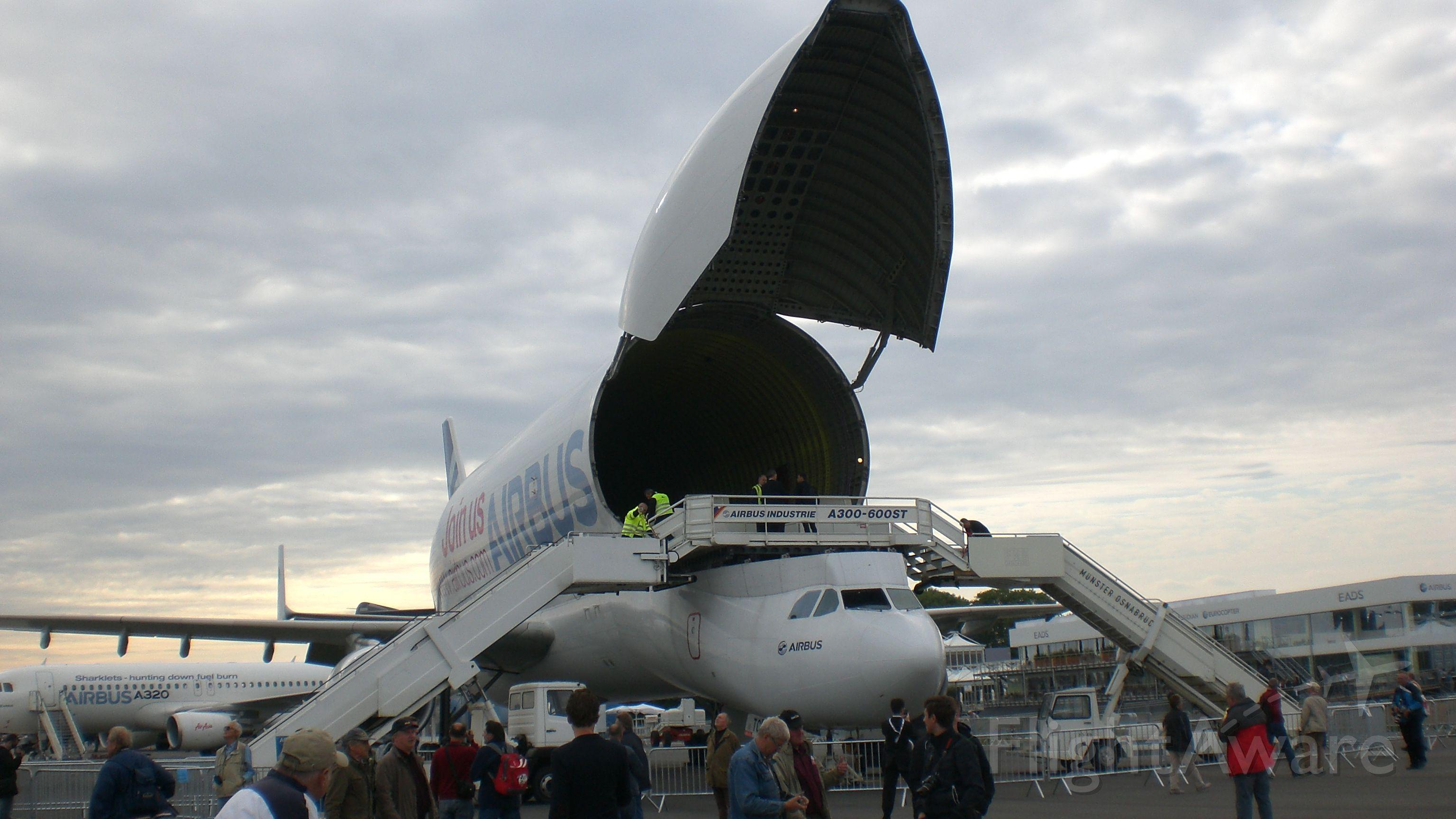 SATIC Super Transporter (F-GSTC) - ILA2012 Berlin