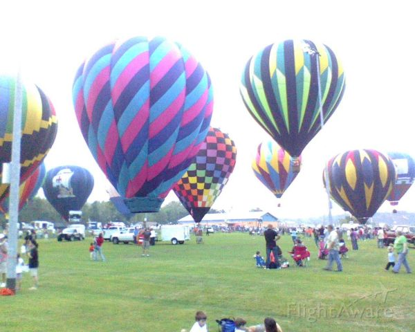 N9071F — - Annual Balloon Fest in Arkansas