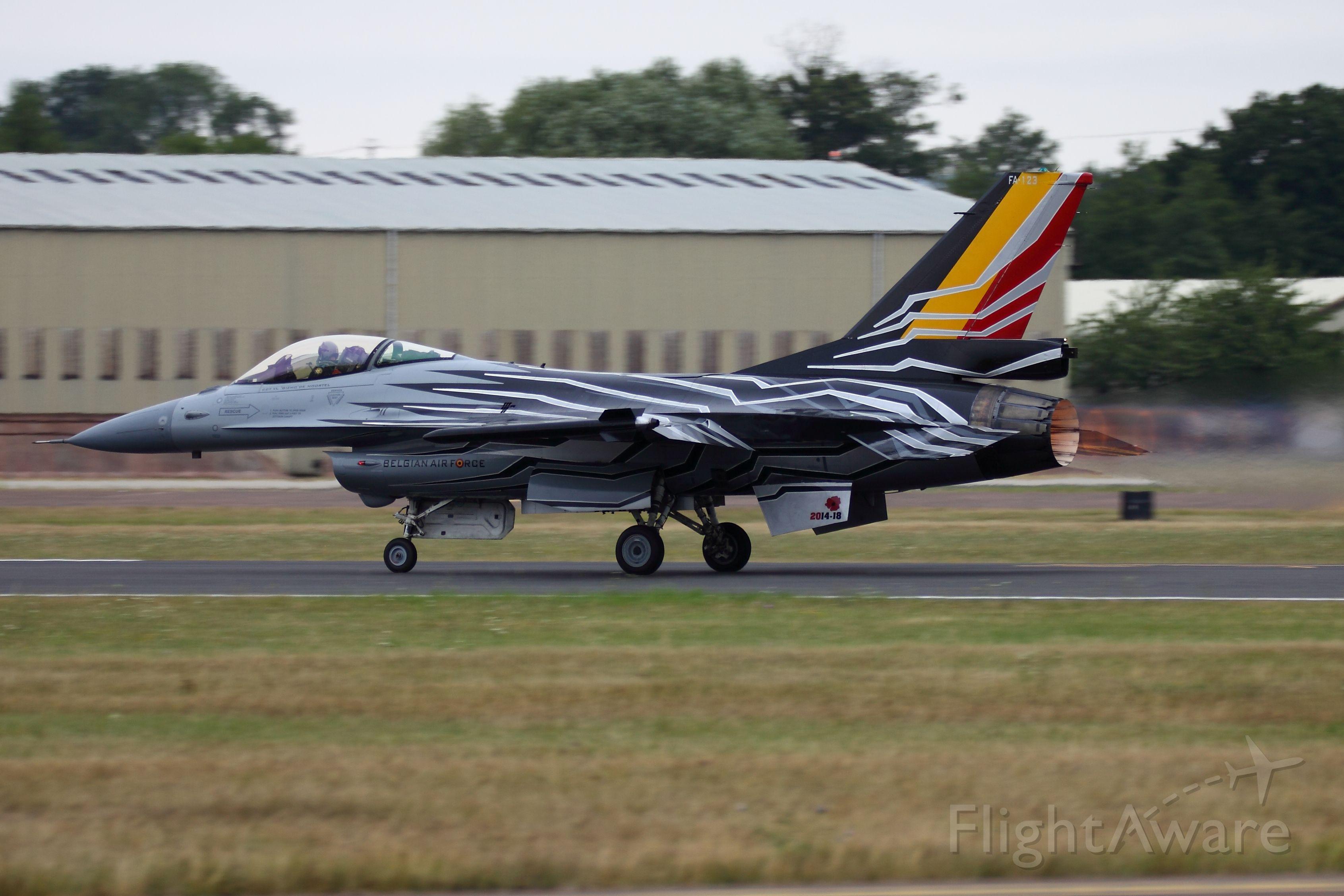 Lockheed F-16 Fighting Falcon — - F-16AM Belgian AF