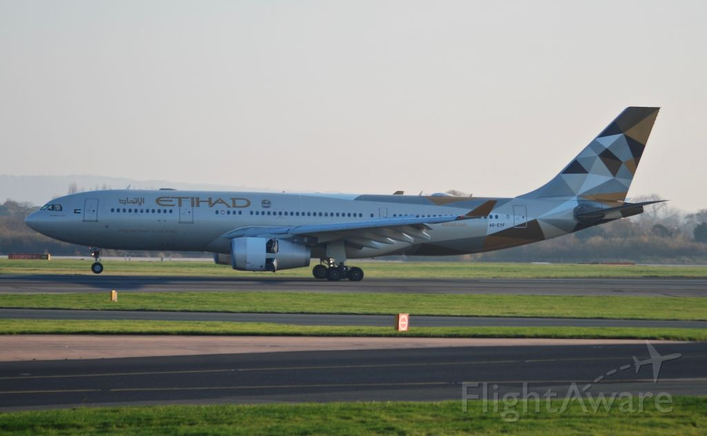 Airbus A330-300 (A6-EYF) - Taken from the Runway visitor centre