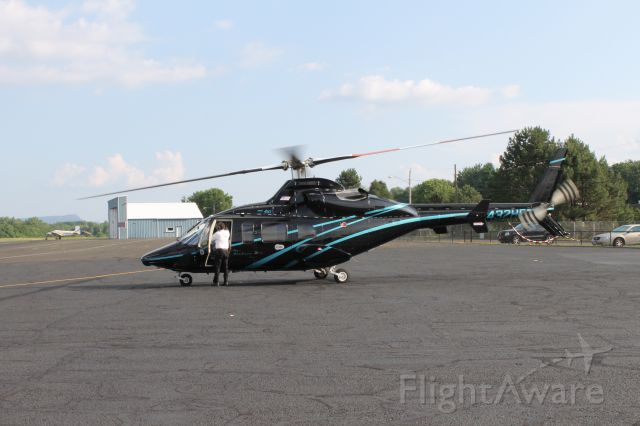 Bell 430 (N432HF) - An awesome visitor to the airport!