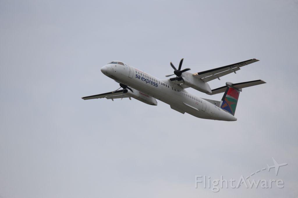de Havilland Dash 8-400 (ZS-YBU)