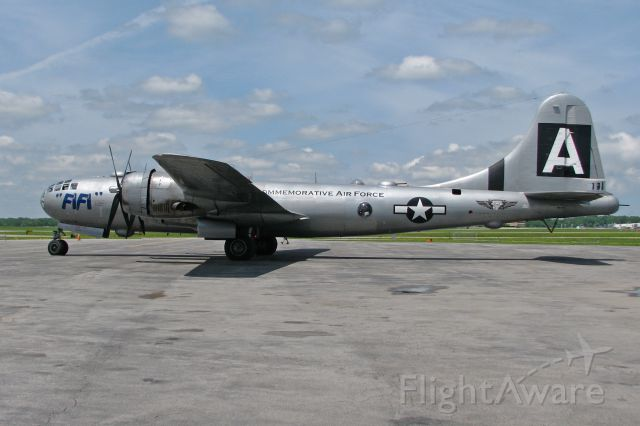 Boeing B-29 Superfortress (N529B) - Fly in at Rochester Intl, 6/11-6/14/15.