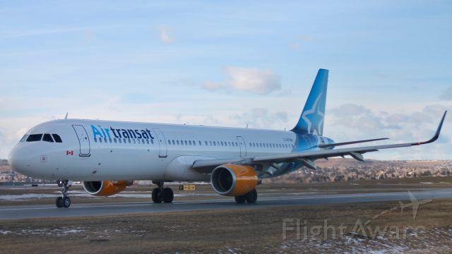 Airbus A321 (C-GTXN)