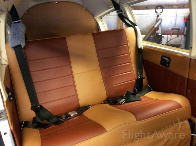 Piper Cherokee Arrow (N65KF) - New Leather going in.