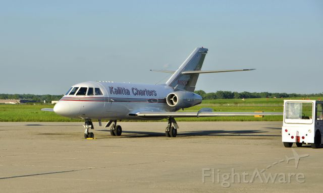 Dassault Falcon 20 (N192CK) - Kalitta Charters Dassault Falcon 20-D N192CK in Willow Run