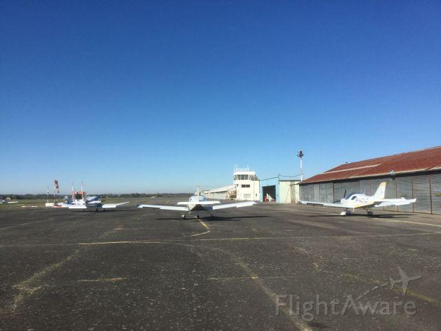 — — - aerodrome at Muret-Lherm, France - birthplace of Clément Ader.