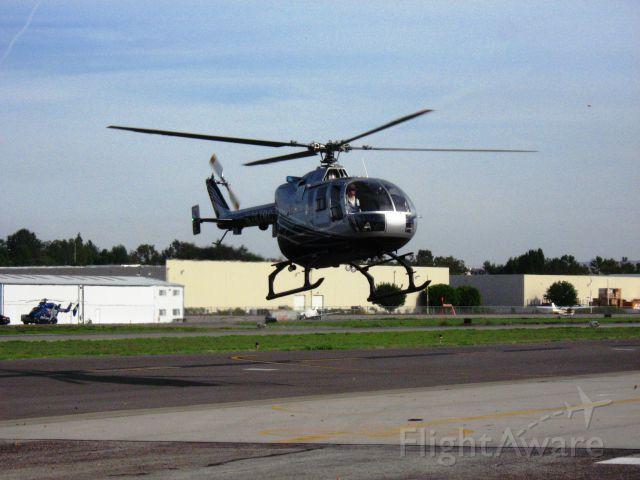 PADC BO-105 (N787RC) - Landing at Fullerton