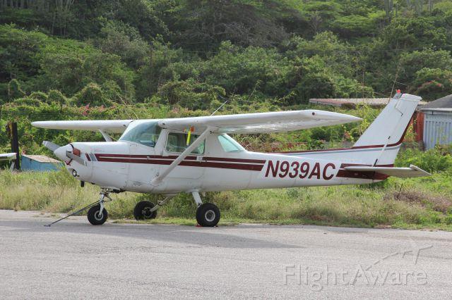 Cessna 152 (N939AC) - Cessna 152II (N939AC) Parked at Aero Club Curacao