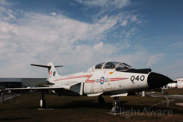 10-1040 — - National Air Force Museum of Canada. Served 409 Nighthawk Squadron Comox, BC 1971-1984