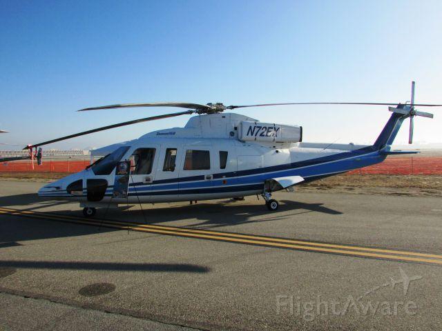 Sikorsky S-76 (N72EX) - On display at Long Beach