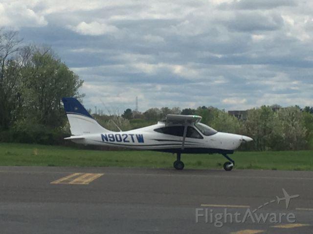 TECNAM P-2008 (N902TW) - N902TW (P208) departing Wings Field (KLOM)br /Photo Date: April 17, 2021