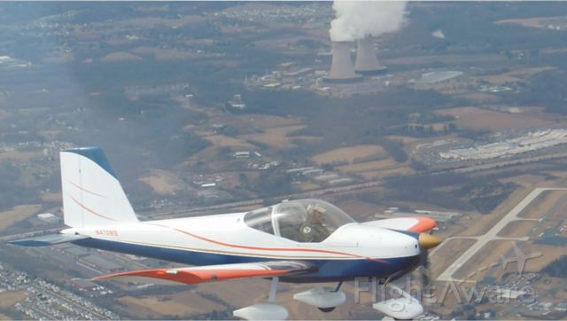 Experimental  (N470MB) - First Flight 10-Mar-2013 chase plane with brother in it took picture over KPTW.