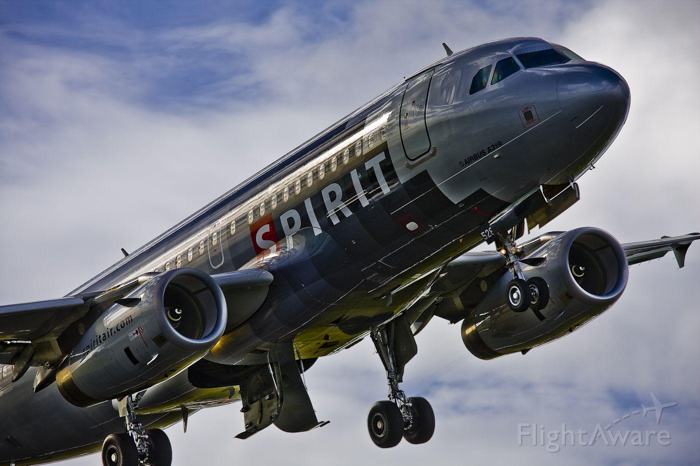 Airbus A319 (N528NK) - AIRBUS A319-132
