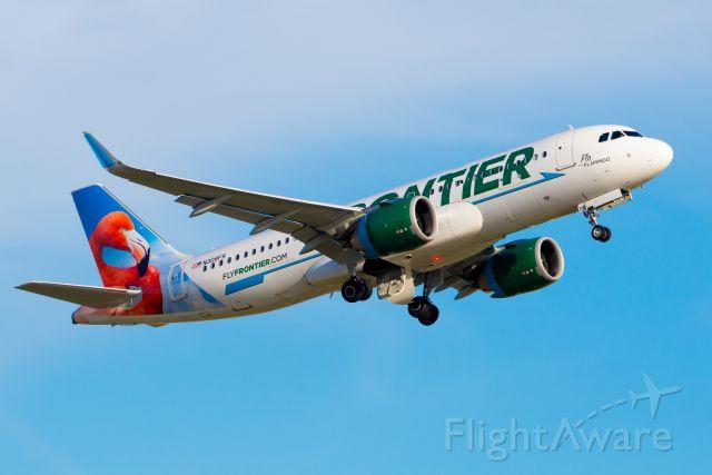 Airbus A320 (N308FR) - FFT A320 N308FR