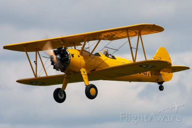 Boeing PT-17 Kaydet (N54899) - A gorgeous 1941 Boeing Stearman at the 2019 Greatest Show on Turf in Geneseo, NY