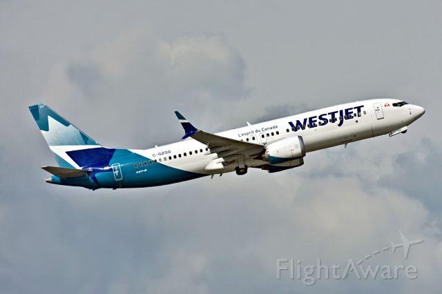 Boeing 737 MAX 8 (C-GZSG) - MAX returns to work