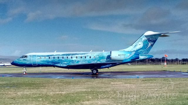 Bombardier Global Express (N117TF)