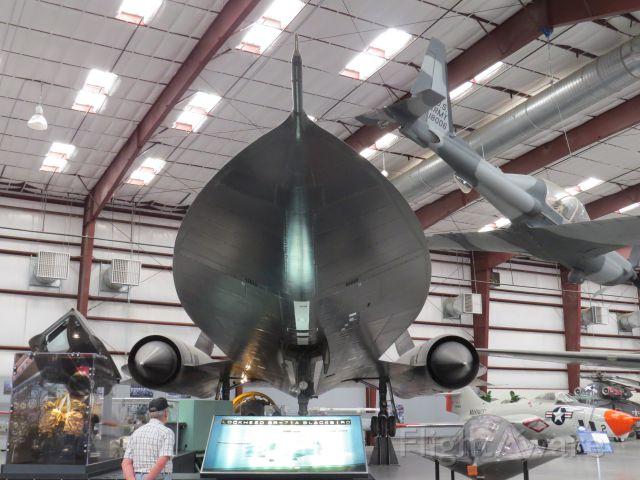 Lockheed Blackbird — - SR71A at Tucson Aviation Museum