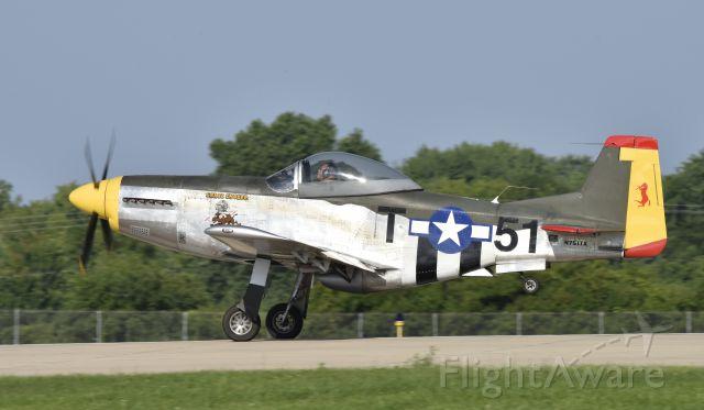 TITAN T-51 Mustang (N751TX) - Airventure 2017