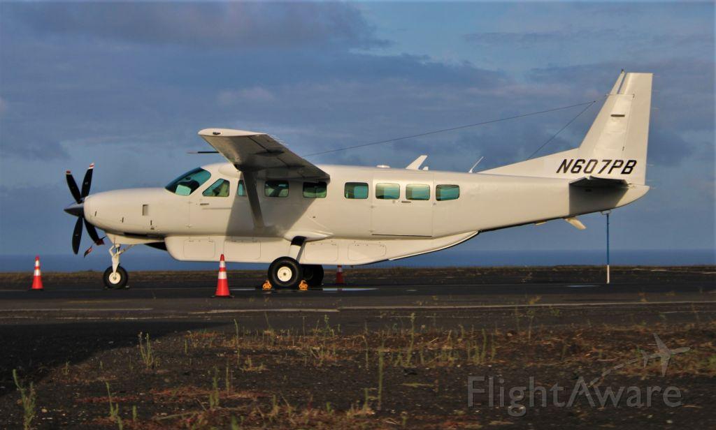 Cessna Caravan (N607PB) - Santa Maria Island International Airport - LPAZ, Azores. July 21, 2021.