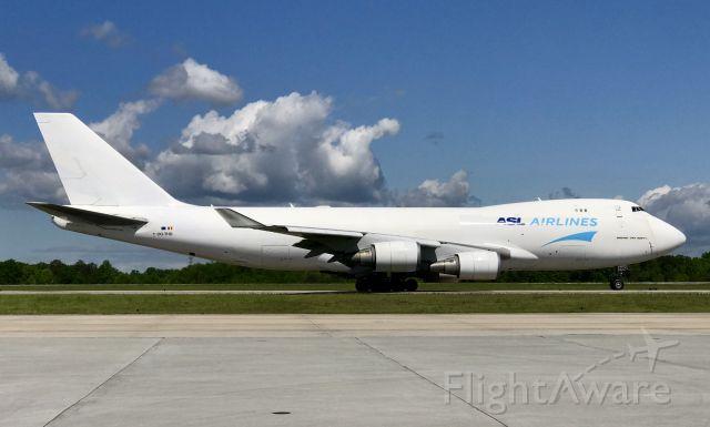 Boeing 747-400 (OO-THD)