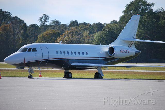 Dassault Falcon 2000 (N659FM) - Registered Owner: Thayer Services LLC - 11/28/09