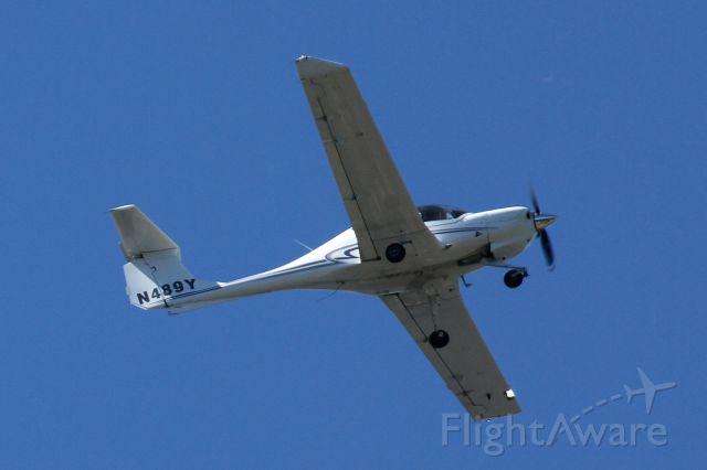 Diamond DA-20 (N489Y) - Over Mercer Island, WA