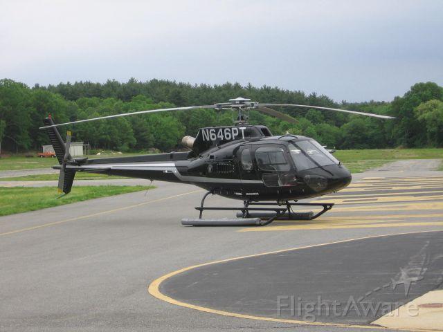 N646PT — - 2007 Eurocopter AS 350 B2