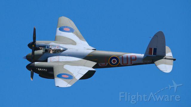 De Havilland Mosquito (N959TV) - FHCs DeHavilland D.H.98 Mosquito T.Mk.III flying at SkyFair 7.22.17.