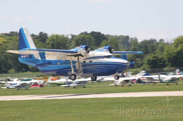 N98TP — - Albatross on arrival Oshkosh.