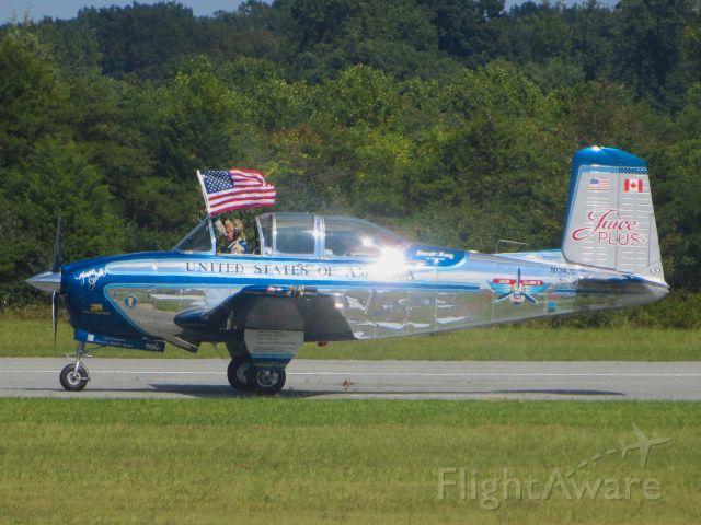 Beechcraft Mentor (N134JC) - American Aerobatics (Julie Clark) Beechcraft T-34 Mentor 9/22/13