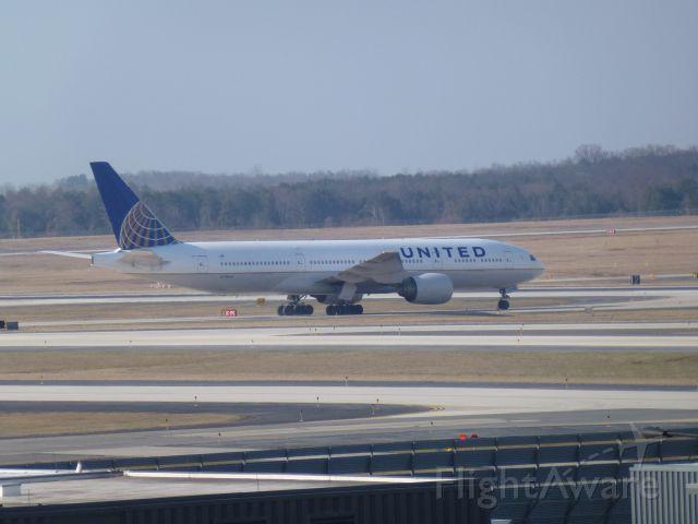 Boeing 777-200 (N798UA) - @IAD Daily Parking Garage #2 5th floor