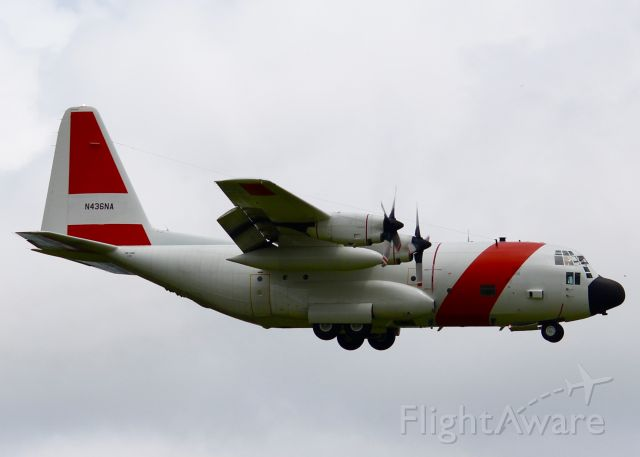 Lockheed C-130 Hercules (N436NA) - At Shreveport Regional. I guess the Coast Guard was finished with this C-130 and now it belongs to NASA. It must be doing some kind of test because it comes and goes several times. Look at its last flight and see that it was a 5 hour flight around the perimeter of the state of Louisiana.   a rel=nofollow href=http://flightaware.com/live/flight/NASA436/history/20160819/1310Z/KSHV/KSHVhttp://flightaware.com/live/flight/NASA436/history/20160819/1310Z/KSHV/KSHV/a