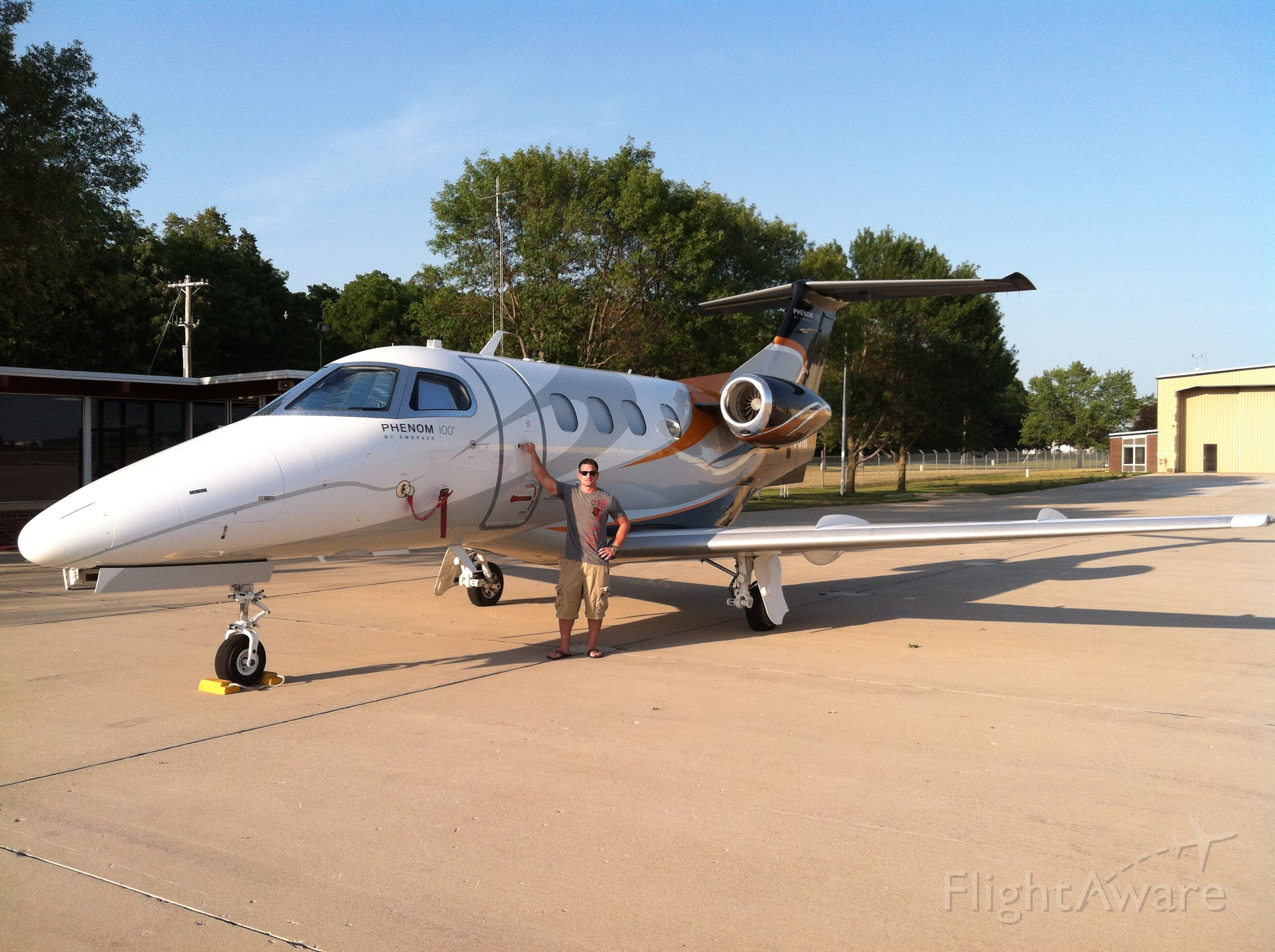 Embraer Phenom 100 — - Just came in with a famous country music artist from Memphis