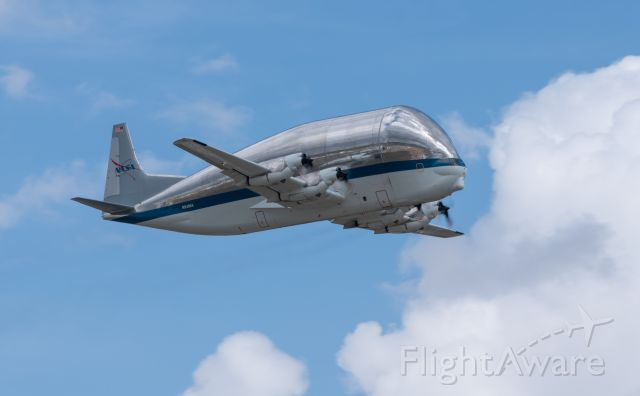 N941NA — - NASA's infamous Super Guppy taking flight from KEFD to KLCH for crew currency training on 3/9/2021