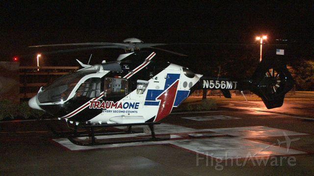 Eurocopter EC-635 (N556MT) - New Trauma1 Chopper at Flagler Hospital, St. Augustine Florida