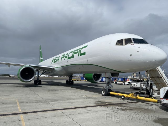 Boeing 757-200 (N922TS) - Ready for its maiden flight