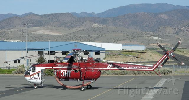 N720HT — - Parked near Mountain West at Carson City Airport