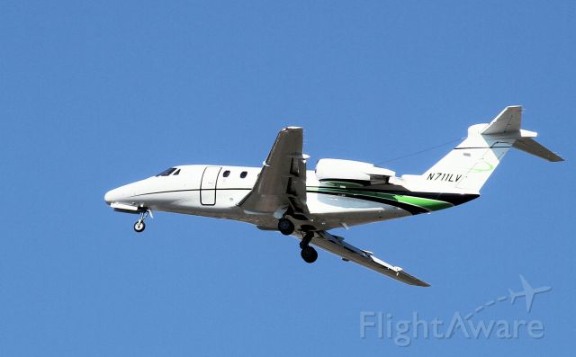 Cessna Citation III (N711LV) - Landed in Lincoln 7-10-12